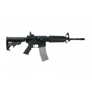 "CMMG M4REVP AR-15 .22 Long Rifle 25-Round 16"" Semi-Automatic Rifle in Black - 22A7C20"