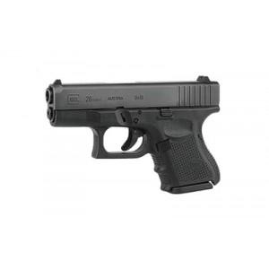 """Rebuilt Glock 26 9mm 10+1 3.46"""" Pistol in Matte (Gen 4) - PG26501"""