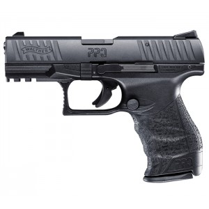 "Walther PPQ 22 M2 .22 Long Rifle 12-Round 4"" Pistol in Tenifer Black Polymer - 5100300"