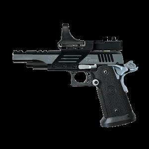 """Bersa SPS 9mm 21+1 5"""" Pistol in Steel (Vista Short) - SPVS9BC"""