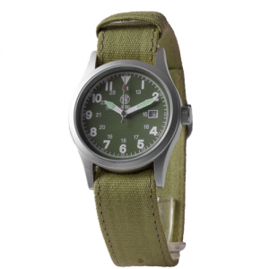 Military Watch - 3 Changeable Straps, Gift Set, OD Face