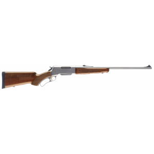 """Browning BLR 7mm Remington Magnum 3-Round 24"""" Lever Action Rifle in Matte Stainless - 34018127"""