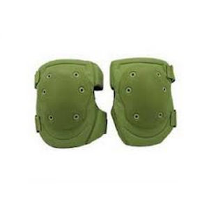 HellStorm Tactical Knee Pad  Tactical Kneepads V2 Olive Drab  New dual injection-molded flex cap design allows maximum flexibility for ease of movement and comfortMinimizes gap between the bottom of the cap and nylon carrier when flexed Padded side extens