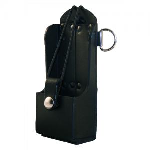 Radio Holder, PL,BLK  Radio Holder, Plain, Black.:Simple Bucket Design Built to fit a Motorola 750 or 1250 Radio Elastic Strap Secures Radio Mates with Radio Strap (6543-1)