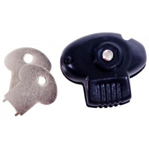 Dac Plastic Trigger Lock with 2 Keys TVP095MP