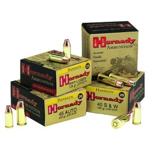 Hornady Custom .357 Sig Sauer Jacketed Flat Point/XTP, 147 Grain (20 Rounds) - 9131