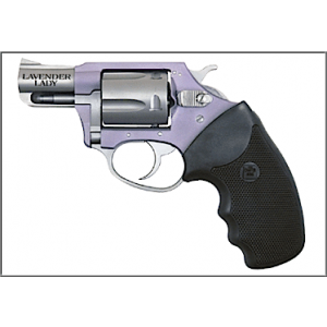 """Charter Arms Undercover Lite .38 Special 5-Shot 2"""" Revolver in Two Tone - Stainless/Lavender (Chic Lady) - 53849"""