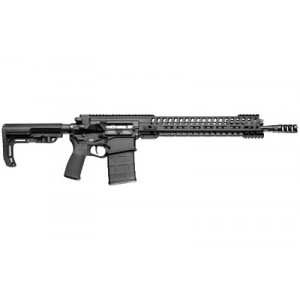 "Patriot Ordnance Factory Revolution, Semi-automatic Rifle, 308 Win, 16.5"" Barrel, 1:10 Twist, Black Finish, Mission First Tactical Furniture, 14.5"" M-lok Rail, Triple Port Muzzle Brake, 4.5lb Pof Drop-in Trigger, 1-20rd Pmag 01235"