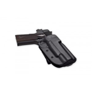 Blade Tech Industries Outside The Waistband Holster, Fits S&w M&p 9/40, Right Hand, Black, With Adjustable Sting Ray Loop Holx000846302587 - HOLX000846302587