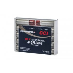 CCI Speer Shotshell .44 Special/.44 Remington Magnum Shot Shell, (10 Rounds) - 3718CC
