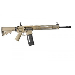 "LWRC SIX8 6.8 SPC 30-Round 16"" Semi-Automatic Rifle in Flat Dark Earth (FDE) - SIX8RCK14P"