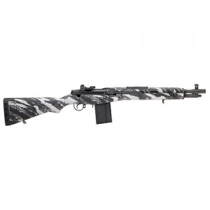 "Springfield Special Operation Command .308 Winchester 10-Round 16.25"" Semi-Automatic Rifle in Black - AA9628"