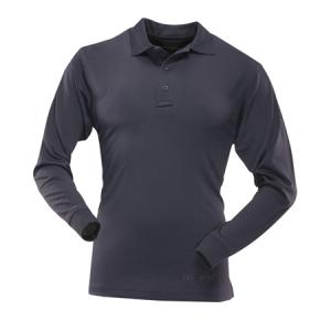 Tru Spec 24-7 Men's Long Sleeve Polo in Navy - 2X-Large