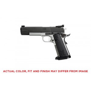 """Sig Sauer 1911 Full Size Max .40 S&W 8+1 5"""" 1911 in Stainless Steel (Fiber Optic Front/Adjustable Rear Sights) - 191140MAXM"""