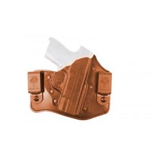 """Desantis Gunhide 105 Intruder Right-Hand Belt Holster for Sig Sauer P226, 229 in Black Kydex Leather (4.4"""") - 105KAF4Z0"""