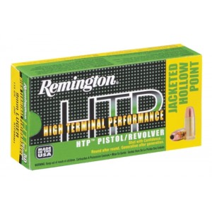 Remington High Terminal Performance .45 ACP Jacketed Hollow Point, 185 Grain (50 Rounds) - RTP45AP2