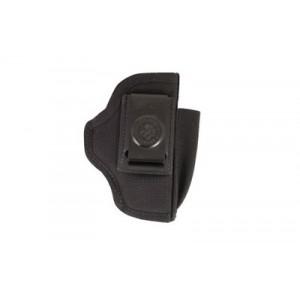 Desantis Gunhide N87 Pro Stealth Right-Hand Belt Holster for Glock 26, 27 in Black Leather (W/ Crimson Trace) -