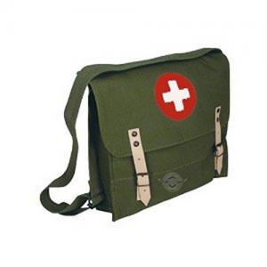 Olive Drab German Style Medical Shoulder Bag
