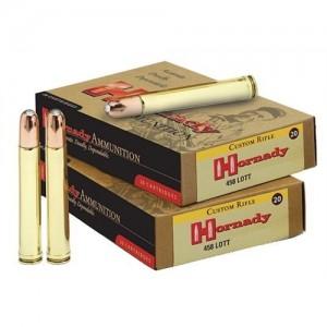 Hornady DGS .458 LOTT Dangerous Game Solid, 500 Grain (20 Rounds) - 8262
