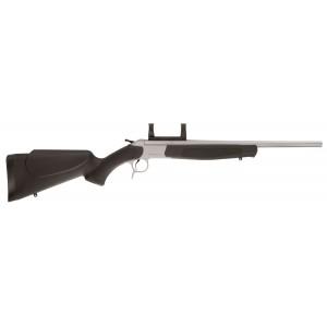 """CVA Mass Market Scout .243 Winchester 20"""" Break Open Rifle in Stainless Steel - CR4816S"""