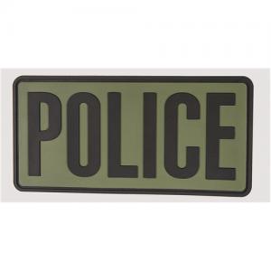 5ive Star - Morale Patch, Police 6  x 3 , OD w/ Black