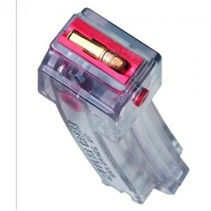 Butler Creek .22 Long Rifle 10-Round Clear Polymer Magazine for Ruger 10/22 Hot Lips - HL10CL