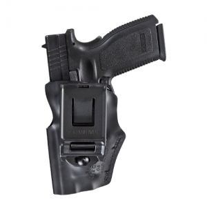 Range Series Open Top Mid Ride Holster Color: Black Finish: STX Plain Gun Fit: S&W M&P Shield 9mm Hand: Right - 5197-179-411
