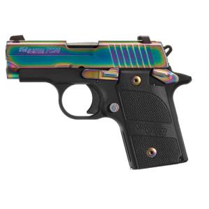 "Sig Sauer P238 Micro-Compact Edge .380 ACP 6+1 2.7"" Pistol in Black Nitron (SIGLITE Night Sights) - 238380EDGE"