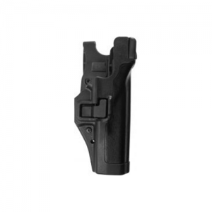 Blackhawk Level 3 Serpa Right-Hand Belt Holster for Heckler & Koch SFP9 in Plain - 44H179BK-R