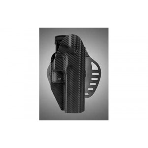 Hogue Grips Powerspeed Carry 12 Holster, Fits M&p 9/40, Right Hand, Cf Weave Matieral, Black Finish 52874 - 52874