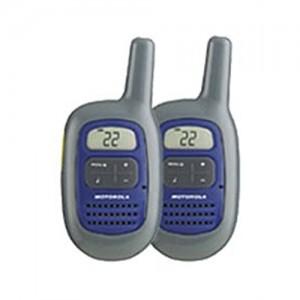 Motorola Two Way Purple Talkabout Radio w/10 Mile Range FV300
