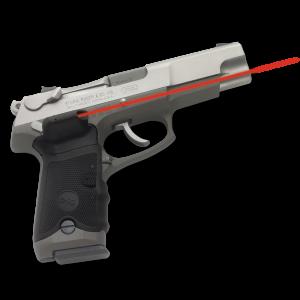 """Crimson Trace LG389 Lasergrips Ruger P Mtl Frame Red 633nm .50""""@50ft Blk"""
