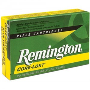 Remington .30-06 Springfield Core-Lokt Pointed Soft Point, 150 Grain (20 Rounds) - R30062