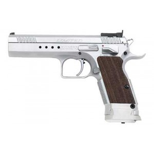 "EAA Witness9mm 17+1 4.75"" Pistol in Chrome - 600310"