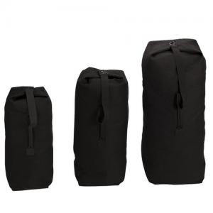 5ive Star Gear Standard Canvas Duffel Bag in Black - 6247000