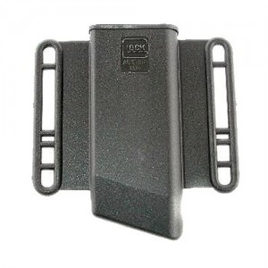 Glock Magazine Magazine Pouch in Black Plain Polymer - MP13080