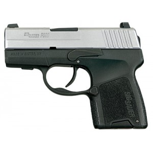 "Sig Sauer P290RS 9mm 8+1 2.9"" Pistol in Stainless Slide/Black Frame - 290RS9TSS"