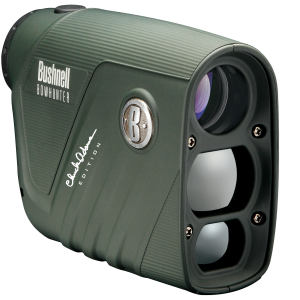 Bushnell Bow Hunter Chuck Adams Edition 4x Monocular Rangefinder in Green - 202206