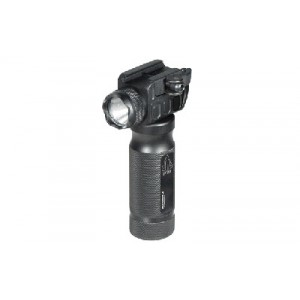 Leapers, Inc. - Utg Flashlight, New Gen 400 Lumen, Fits Picatinny, W/ Quick Detach Mount Base, Black Finish Mnt-el228gpq-a