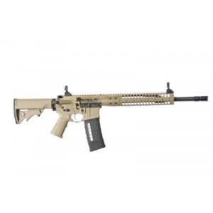 "LWRC SIX8 SPR 6.8 SPC 30-Round 16.1"" Semi-Automatic Rifle in Flat Dark Earth (FDE) - SIX8RCK16SPR"