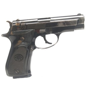 "Pre-Owned Browning BDA 380 ACP Semi-Automatic Pistol with 3.8"" Barrel, Fixed Sights and Factory Plastic Grips"
