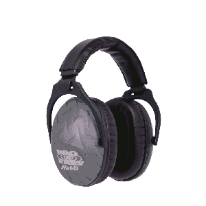 Cass Creek PE26UY010 ReVo Earmuff Blue Diamond Plate