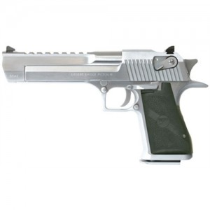 "Magnum Research Desert Eagle .50 AE 7+1 6"" Pistol in Brushed Chrome (Mark XIX) - DE50BC"