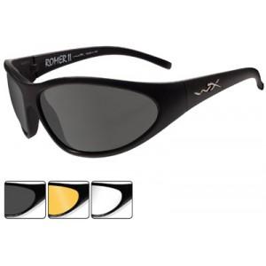 Wileyx Eyewear ROMER II Safety Glasses Outdoor Style Black Matte 1006