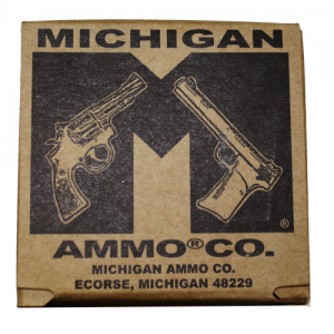 Michigan Ammo 9mm Total Metal Jacket, 124 Grain (50 Rounds) - 503