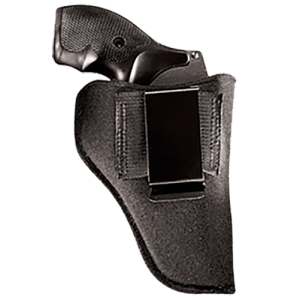 """Uncle Mike's Inside-The-Pants Left-Hand IWB Holster for Small Autos in Black (4"""") - 21310"""