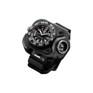 Compact Wristlight With Luminox Watch, Recharge Li-Ion, 15/60/300 Lu, Black