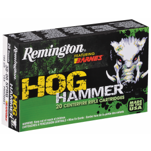 Remington Hog Hammer .300 AAC Blackout TSX Boat Tail, 130 Grain (20 Rounds) - PHH300AAA1