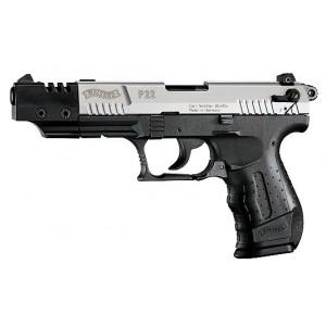 "Walther P22 .22 Long Rifle 10+1 5"" Pistol in Nickel - WAP22006"