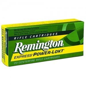 Remington .243 Winchester Power-Lokt Hollow Point, 80 Grain (20 Rounds) - R243W2